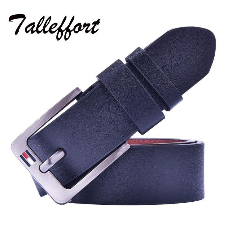 HOT SALE 2016 Marcas Cintos Famous Brand Luxury Belt Men cowboy Male Waist Strap Leather Alloy Buckle luxury men belt