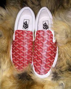 GOYARD SLIPPERS | Goyard Vans | shoes | Pinterest | Van