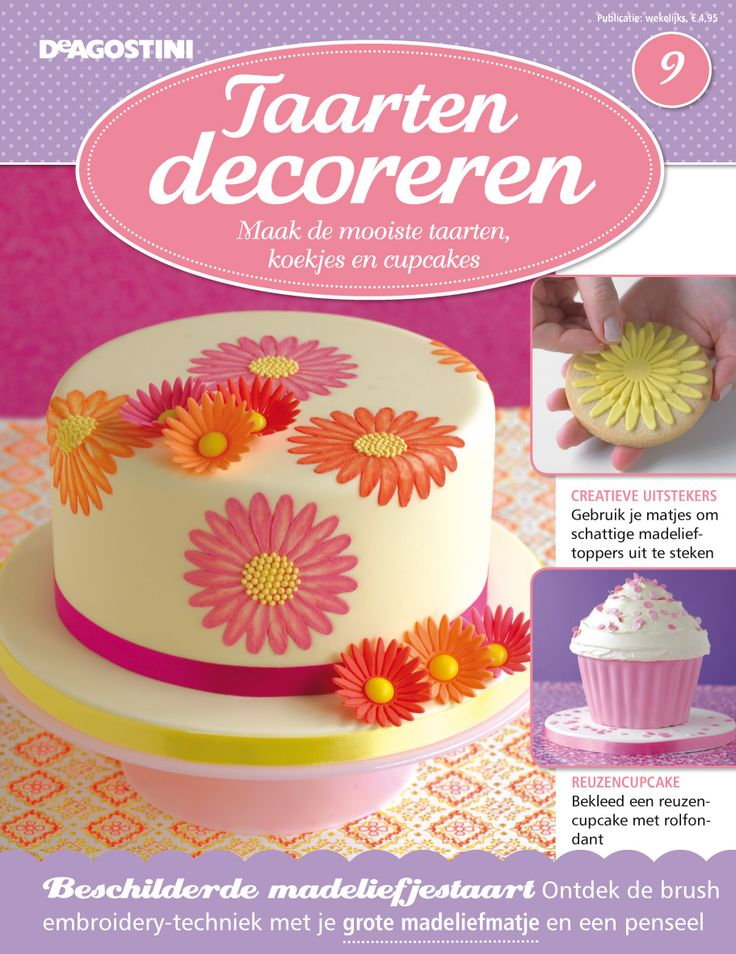 Deagostini Cake Decorating Kit : 17 Best images about Magazine covers on Pinterest Donuts ...