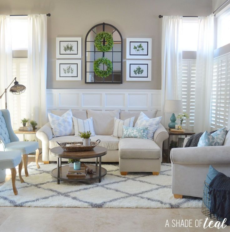 Adorable Wall Decor Above Couch Your House Design:…