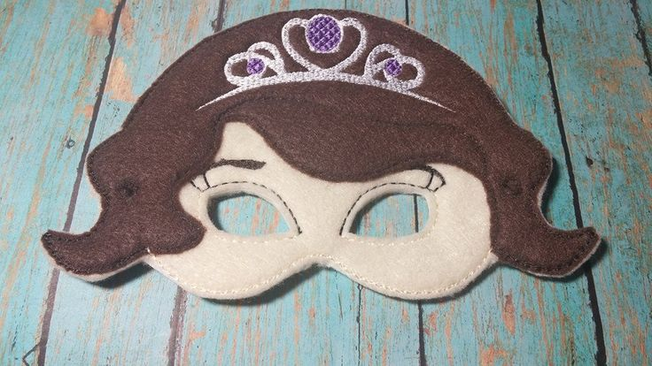 Princess Sophia Play Mask by TamsTinyBlessings on Etsy