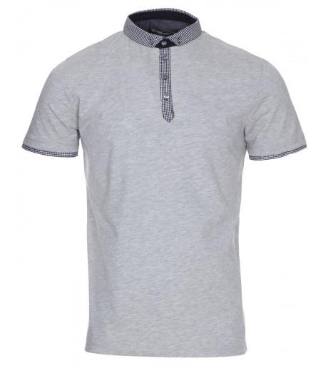Smart Grey Polo Shirt - £16.99