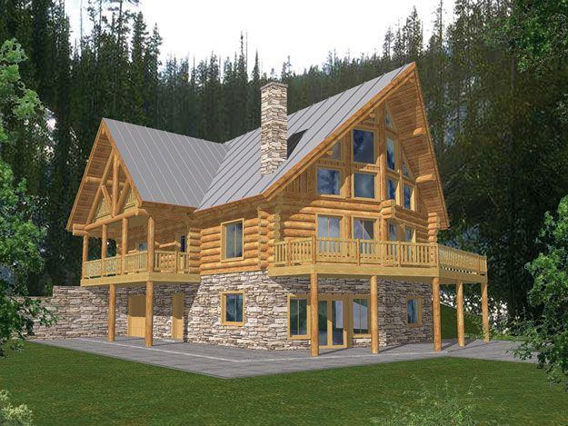 log homes with porch house plans 87 best vacation home plans images on pinterest deck plans log