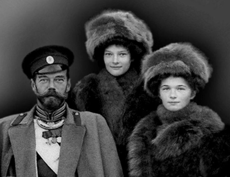 Nicholas, Tatiana and Olga