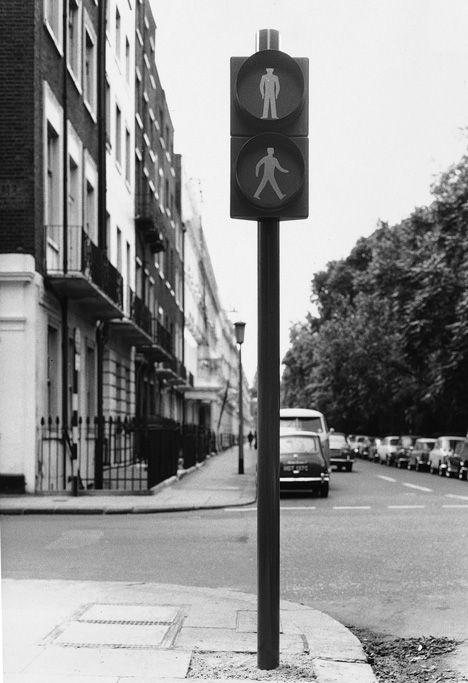David Mellor Pedestrian Crossing Signal Prototype, 1960s.