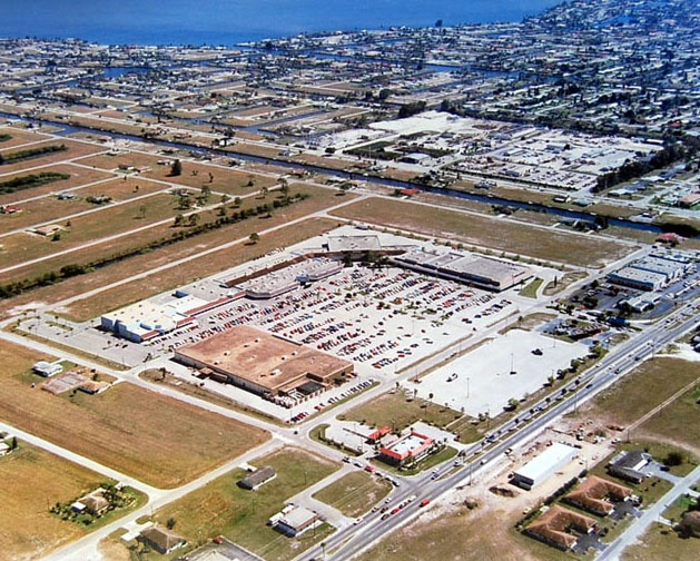 1979 Aerial Of The Coralwood Shopping Center As An Indoor Mall And Before Veterans Memorial Parkway