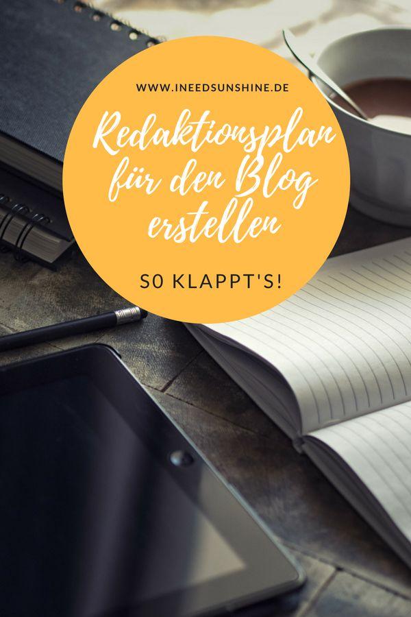 Blogger Tipps: Redaktionsplan für den Blog erstellen. Erfolgreich und organisiert Bloggen, indem man regelmäßig neue Blog Beiträge schreibt. Tipp für Blog Anfänger und Fortgeschrittene für mehr Organisation beim Bloggen.