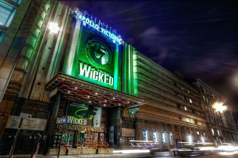 Apollo Victoria Theatre, London, England (where we saw Wicked!!)