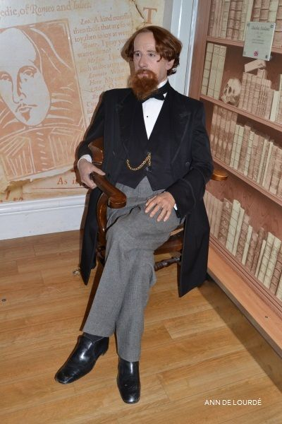 Charles Dickens, Summer 2013, Madame Tussauds, London.