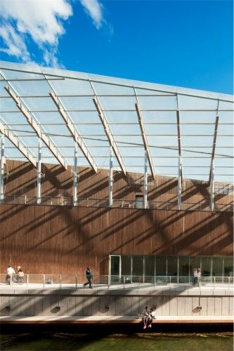 Astrup Fearnley Museet / Renzo Piano Building Workshop #wood #glass #steel