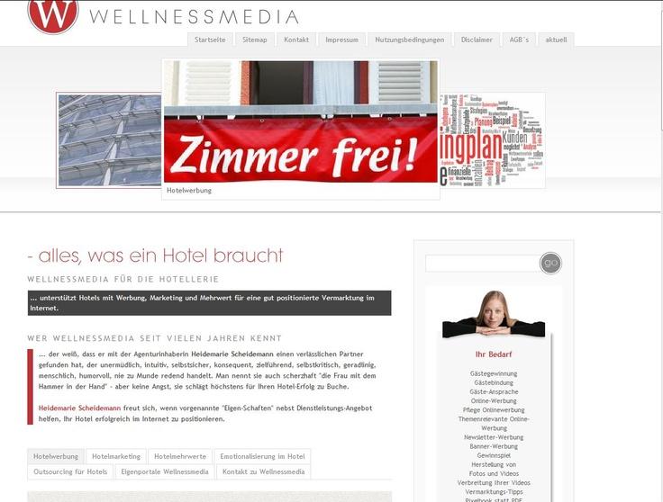 Wellnessmedia - Hotelwerbung, Hotelmarketing, Hotelmehrwerte