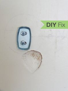 how to fix dents on the wall