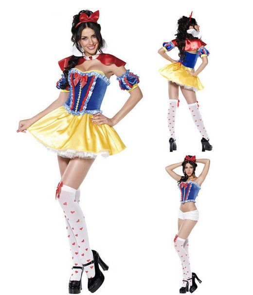 Original Princess Snow White Cinderella Dresses Costumes: Aliexpress.com : Buy New Snow White Cinderella Princess