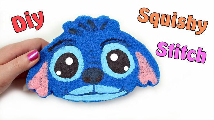 SQUISHY FATTO IN CASA! Stitch Squishy fatto a mano DIY !Tutorial ✿  Tutorial:Realizziamo uno Squishy fatto in casa Stitch DIY ! Homemade Squishy Tutorial!  Guarda il video qui: https://youtu.be/hvPRdFItwtE
