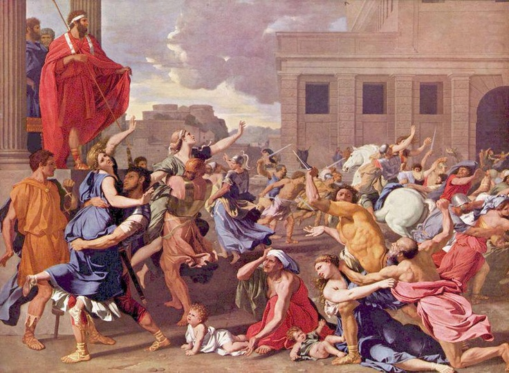 Nicholas Poussin / Abduction of the Sabine Women /