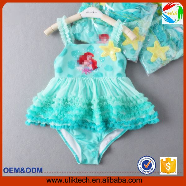 2016 bebê grils roupas hot venda on-line loja de fornecimento de fábrica menor preço do bebê meninas terno de natação filhos adoráveis meninas biquíni