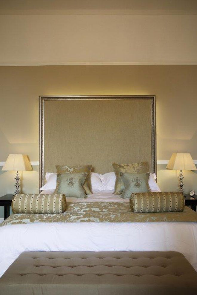 The Honeymoon Suite's sumptuous furnishings and contemporary colour palette will ensure your stay on the night of your wedding is one of the best nights of your life | Farnham Castle