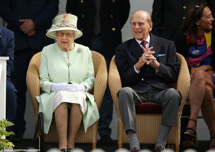 koningin elisabeth en prins philips 25-6-2017
