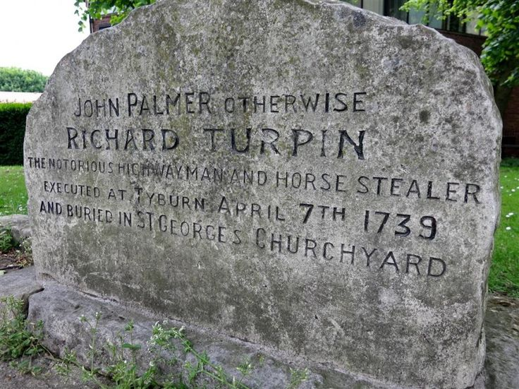Dick Turpin - The Legendary Highwayman and his horse Black Bess