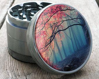 Lost Woods Grinder // Beautiful Herb Grinder by Shape | Totem Series Metal Weed Grinder