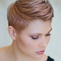 short mohawk hairstyle for women