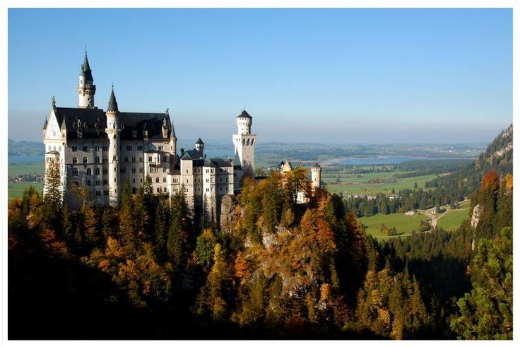 Neu Schwanstein castle, Bavaria, Germany