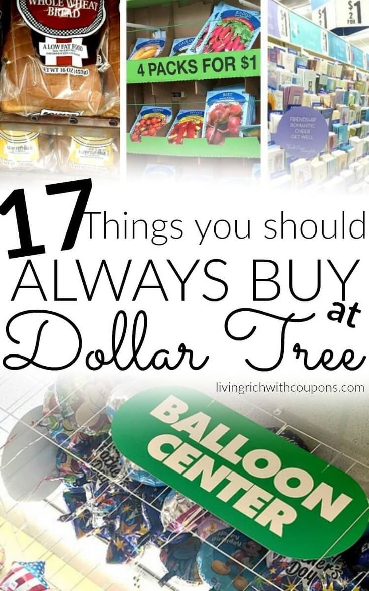17 Things You Should Always Buy at Dollar Tree