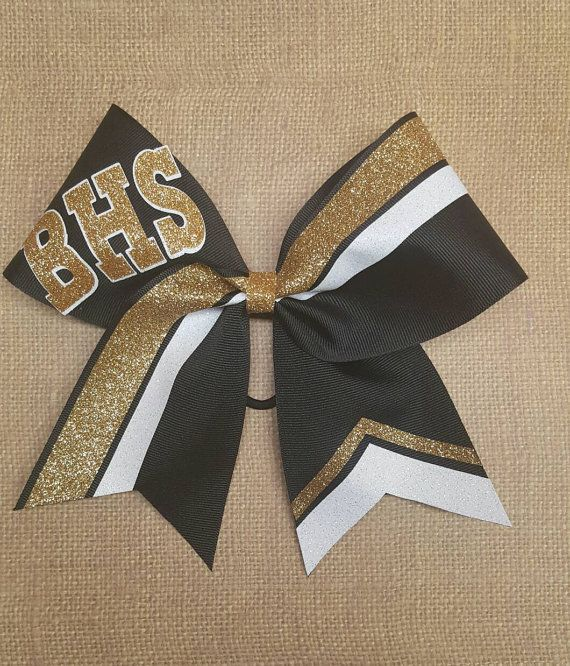 Custom cheer bow you pick colors team cheer by ThatSparkleShop