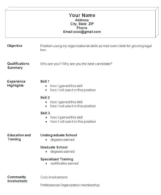 Resume Examples Industry And Job Title In 2020 Resume Template Examples Job Resume Template Job Resume Examples