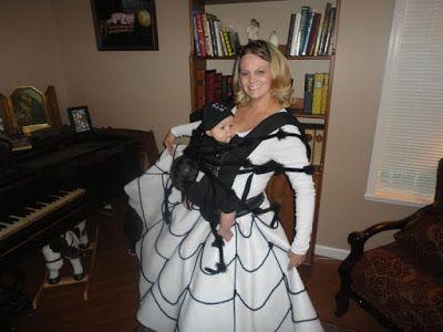 9 Babywearing Halloween Costumes - The Anti-June Cleaver