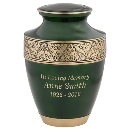 Decorative Cremation Urns Amusing 19 Best Gold Brass Cremation Urns Images On Pinterest  Grey Review