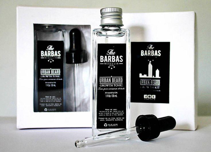 Kit Tónico Urban Beards con Minoxidil al 5%
