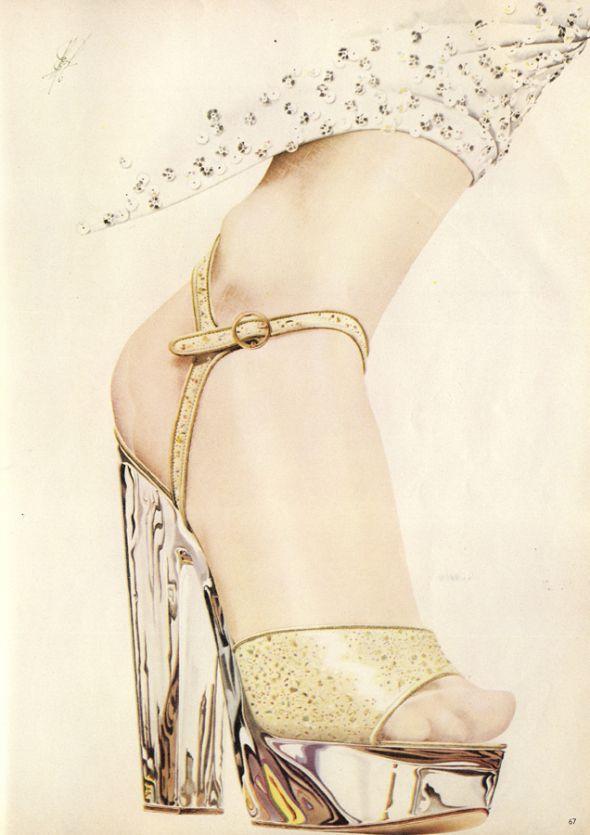 1970s Boots Porn - Shoe Porn: Perspex platforms by Chelsea Cobbler