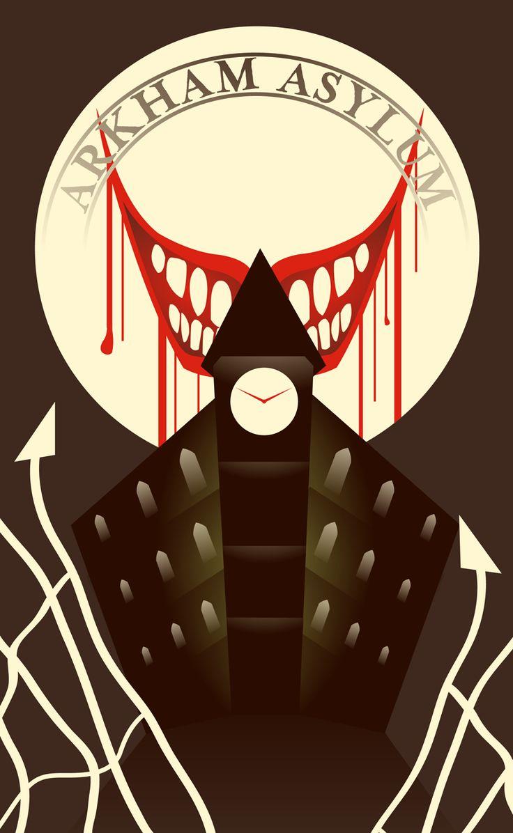 -BATMAN TAROT- THE TOWER - THE JOKER