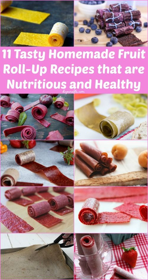 Healthy Fruit Roll Ups