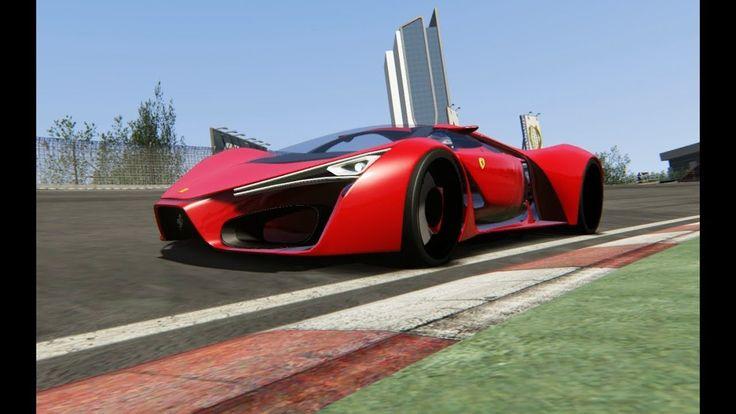 Ferrari F80 Concept at Dubai Autodrome