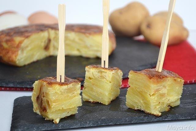 Tortilla di patate, ricetta della frittata di patate tipica della Spagna