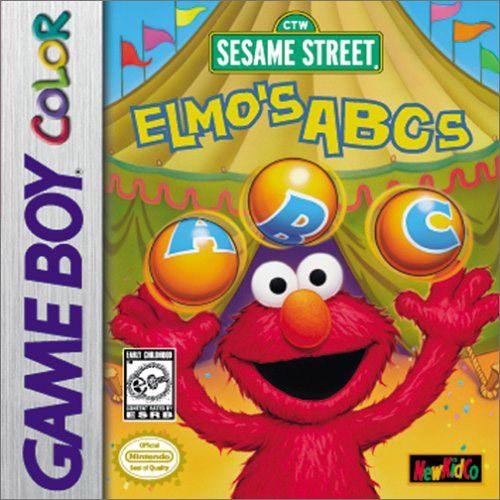 Elmo's ABCs - Game Boy Color Game