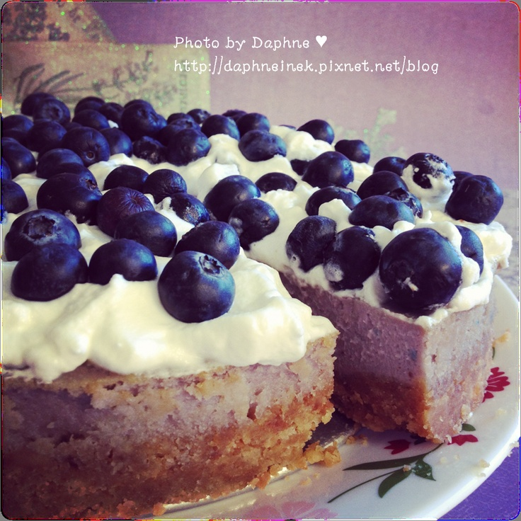 blueberry cheesecake crumble blueberries cake design cake ideas ...
