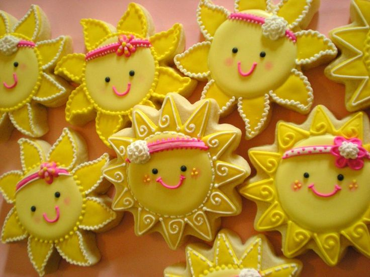 "sunshine cookies | You Are My Sunshine"" Cookies 