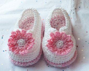 Вязание крючком для новорожденных пинетки, Мягкая Подошва Детская обувь,Детская обувь девушка,девушки младенца, пинетки, вязание крючком пинетки для девочек, пинетки ручной работы