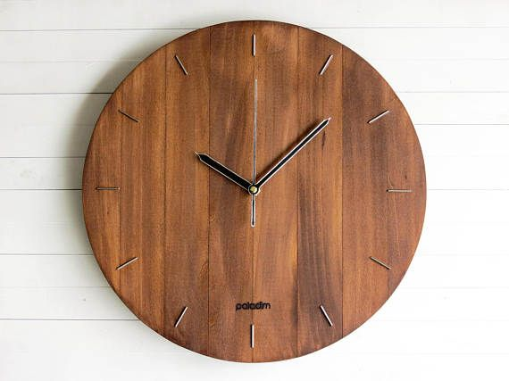 The Big Oval wall clock is classic, elegant, silent and handmade in our workshop. A perfect decoration and fine interior component for your office or home! Make sure you check out all our designs at www.paladimhandmade.com and order your best fit!