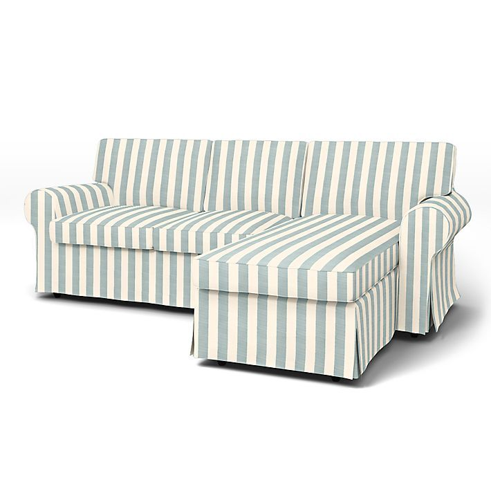 Sectional Sofa Ektorp Sofa Covers Seater Chaise Longue Regular Fit using the fabric Stockholm