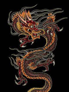 Imágenes Dragones chinos con movimiento.