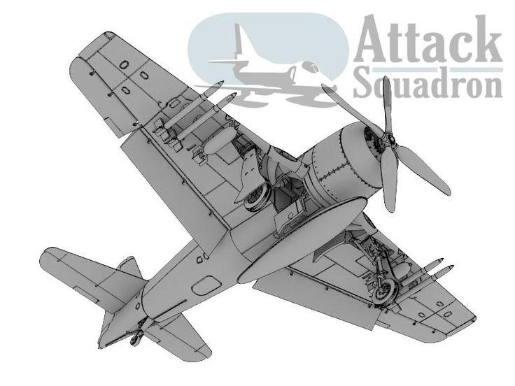 F8F - weapon arrangement http://attacksquadron.pl/index.php/2013/12/a-kolejnym-modelem-attack-squadron-jest/?lang=en