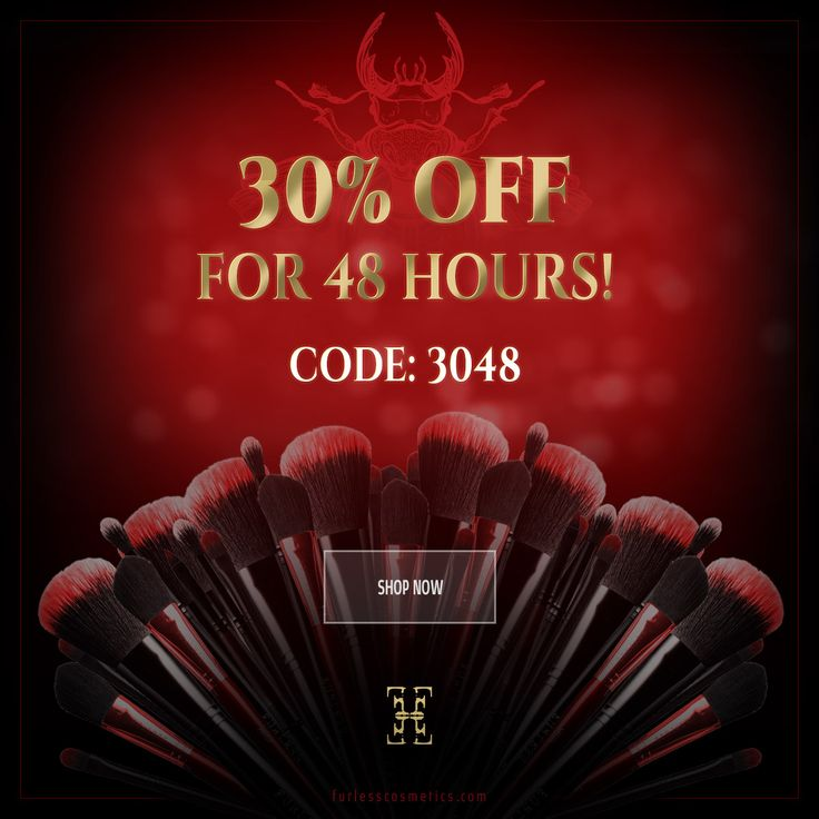 GET 30% OFF FOR 48 HOURS ONLY! Code: 3048 Offer ends Sunday February 25th.   USA: https://furlesscosmetics.com Australia: https://furlesscosmetics.com.au NZ: https://furlesscosmetics.nz