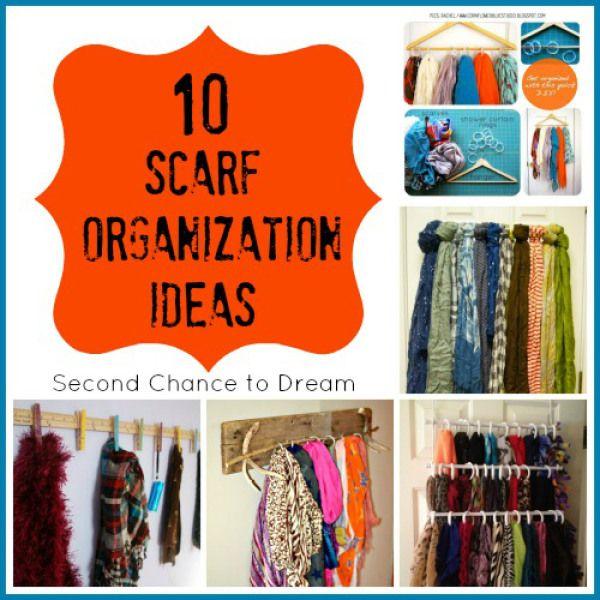 organize scarfs