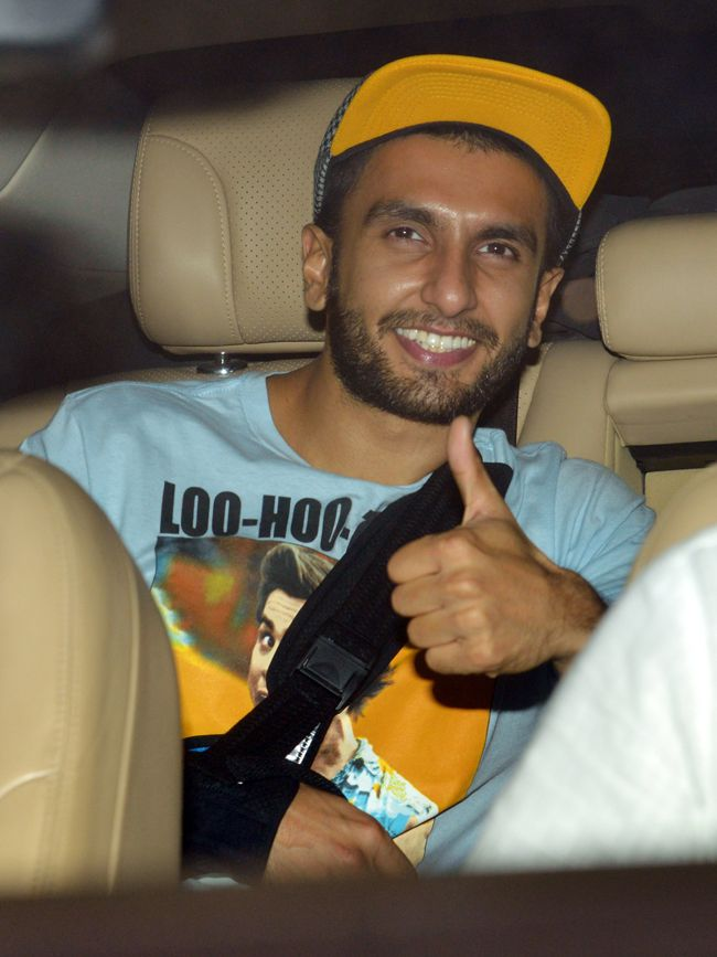 Ranveer Singh at NH10 screening. #Bollywood #Fashion #Style #Handsome