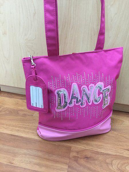 Pink Dance Bag <3 Ready for Dance class !!   Shop Now! pinktutushop.com #dance #dancer #ballet #ballerina #pinktutu #pinktutushop #bag #dancebag #ballerinastuff