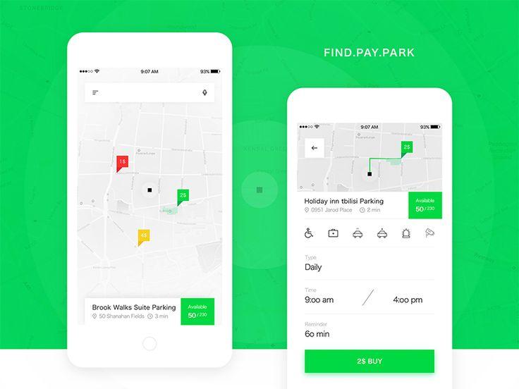 Parking App by Tam Zarna